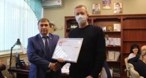 В Крыму наградили представителей крымских брендов за участие в конкурсе «Вкусы России»