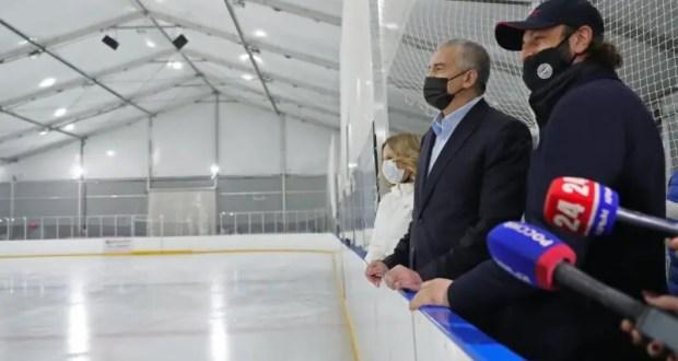 В Крыму будут возводить новые катки и ледовые арены