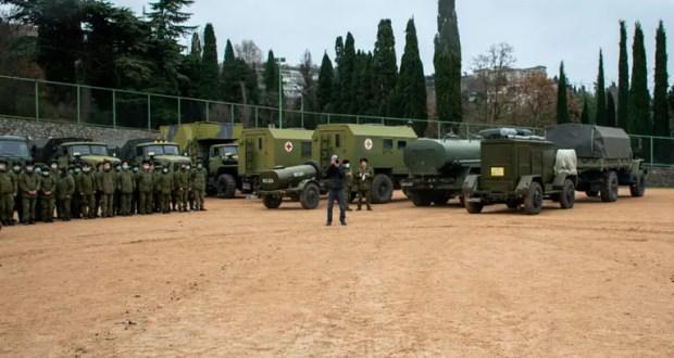 В Ялте разворачивают мобильный госпиталь Министерства обороны России