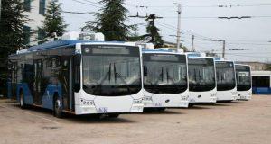 В Севастополе пассажиров обслуживают двести троллейбусов