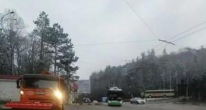 МЧС Крыма о ситуации на дорогах полуострова