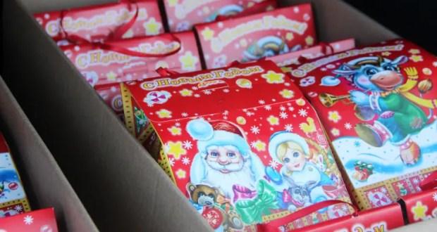 В Севастополе детские новогодние подарки льготникам доставляют на дом
