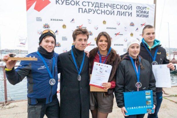 В Севастополе завершился финал Кубка студенческой парусной лиги-2020