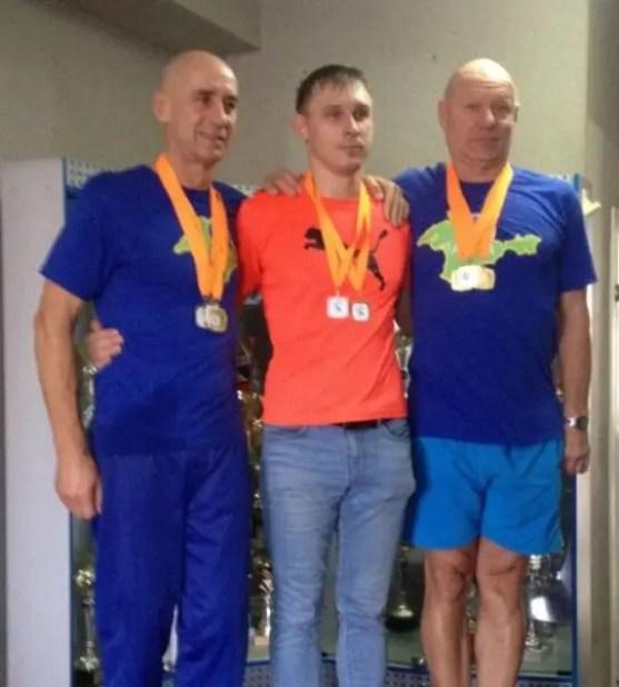 Пловцы-ветераны из Крыма завоевали четыре медали на чемпионате Юга России