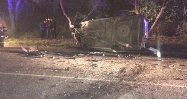 Утреннее ДТП в Нижнегорском районе Крыма: водитель ВАЗа не справился с управлением