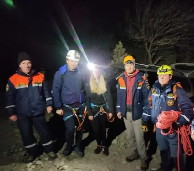 Двое туристов заблудились вечером на горе Сокол, в районе Судака