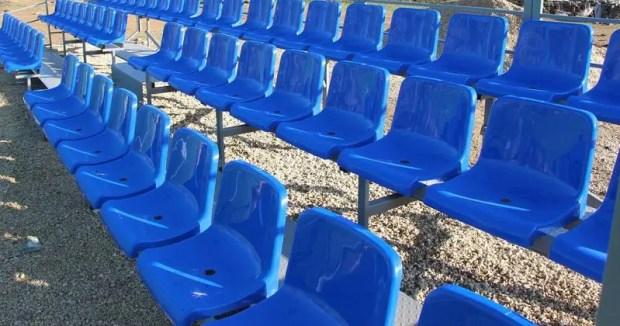 В Керчи завершен первый этап реконструкции стадиона «Металлург»