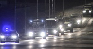 Военные медики прибыли в Ялту. Будут разворачивать «ковидный» госпиталь