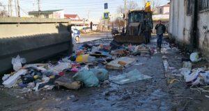 За одни только сутки в Симферополе ликвидировали 12 стихийных навалов мусора