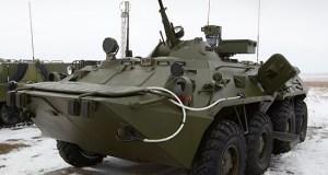 В Крыму подразделения химзащиты Южного военного округа пополнились новой техникой
