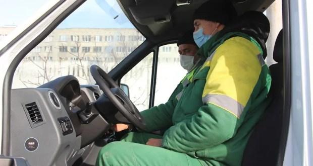 У керченского Зеленхоза в Новом году появился собственный автопарк