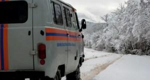 В Крыму спасатели мониторят туристические тропы и стоянки