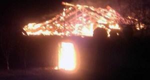 Ночной пожар в Бахчисарайском районе и еще три пожара минувших суток в Крыму