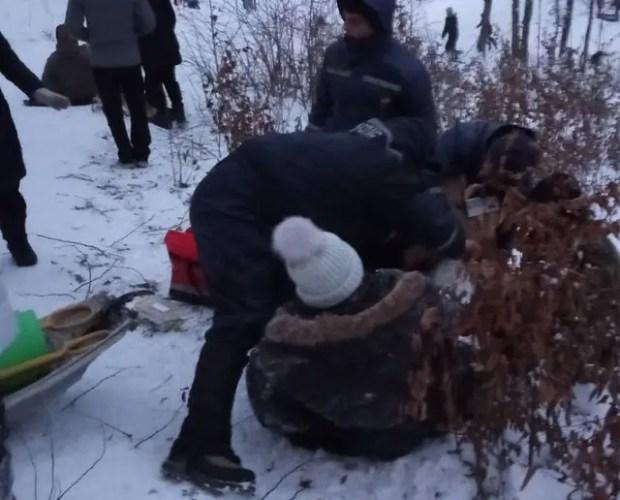 За один день крымские спасатели 10 раз оказывали помощь любителям зимнего отдыха