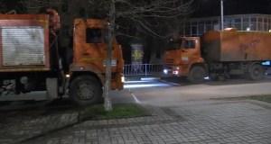 В Керчи приступили к тщательной уборке городских дорог