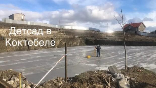 Минстрой Крыма провел ряд объектов на востоке Крыма. Есть вопросы по очистным в Коктебеле