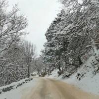 Из-за снегопадов крымчан просят воздержаться от поездок на личном транспорте