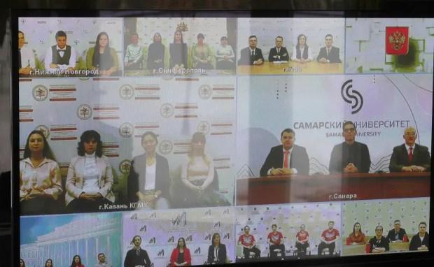 В Татьянин день Владимир Путин пообщался в режиме онлайн со студентами, в том числе из Крыма