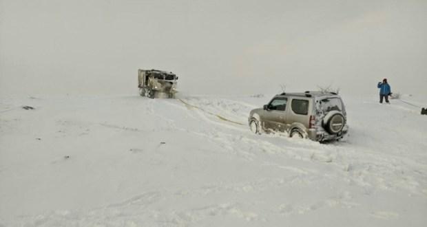 За прошедшие сутки «КРЫМ-СПАС» 6 раз оказывал помощь автомобилистам, застрявшим в снежных заносах
