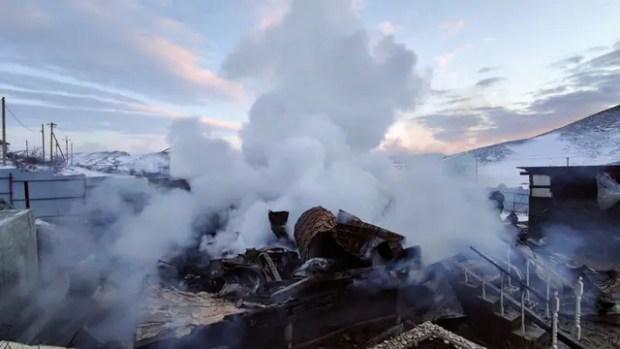В Крыму ликвидировали два крупных пожара: в Коктебеле и Советском районе