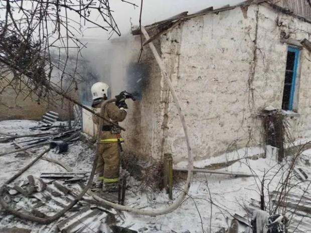 МЧС: в Крыму участились пожары в «частном секторе»
