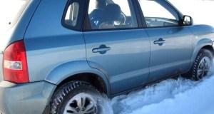 «КРЫМ-СПАС» оказал помощь автомобилисту, застрявшему в снежном заносе