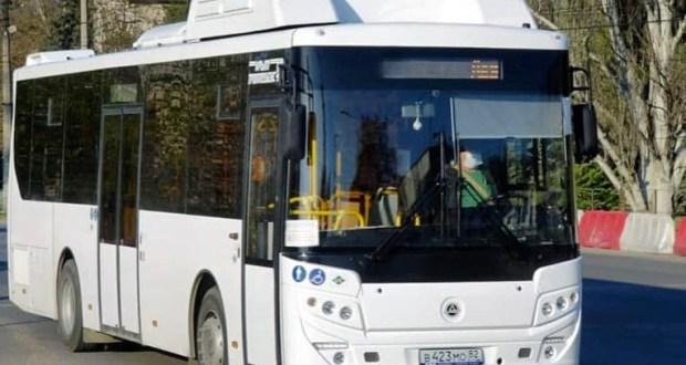 Семь новых автобусов вышли на маршрут №95 к новому медицинскому центру под Симферополем