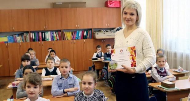 Учительница симферопольской школы №2 Екатерина Коваленко – одна из лучших педагогов страны