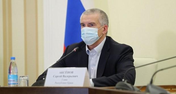 Аксёнов поручил публиковать еженедельный график ремонта дорожных объектов в Крыму