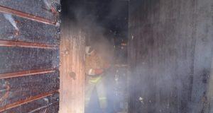 Вечерние пожары в Симферопольском и Первомайском районах. Ох уж эти печки