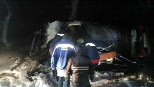 ДТП на трассе Симферополь - Феодосия: водитель не справился с управлением авто