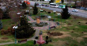 В Керчи решили в этом году благоустроить сквер Воссоединения