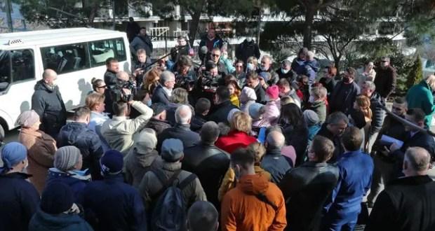 Аксёнов пообещал найти по Форосскому парку решение, которое устроит всех