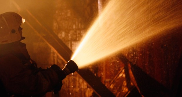 Пожар в Красногвардейском районе. Погиб мужчина