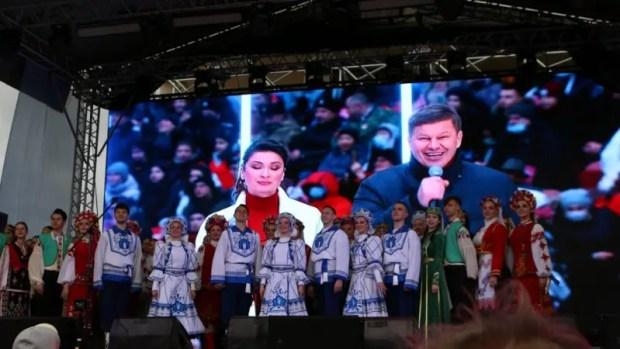Как завершилось в Симферополе празднование Дня воссоединения Крыма с Россией