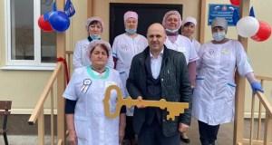 В еще одном крымском селе открылась модульная врачебная амбулатория