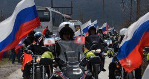 18 марта в Симферополе – ограничение движение. Причина: автомотопробег в честь Крымской весны