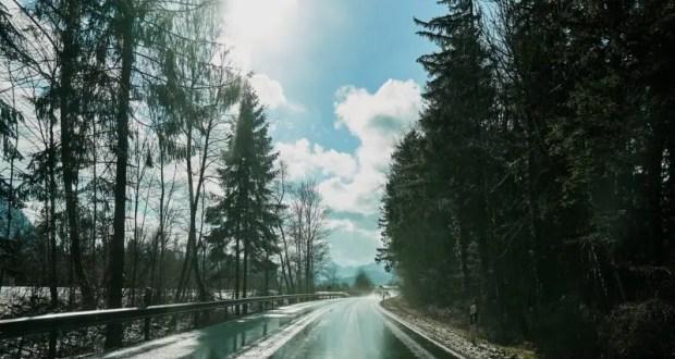 Погода в Крыму - дождь, мокрый снег