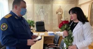 Главврач симферопольской седьмой больницы удостоена награды Следственного комитета