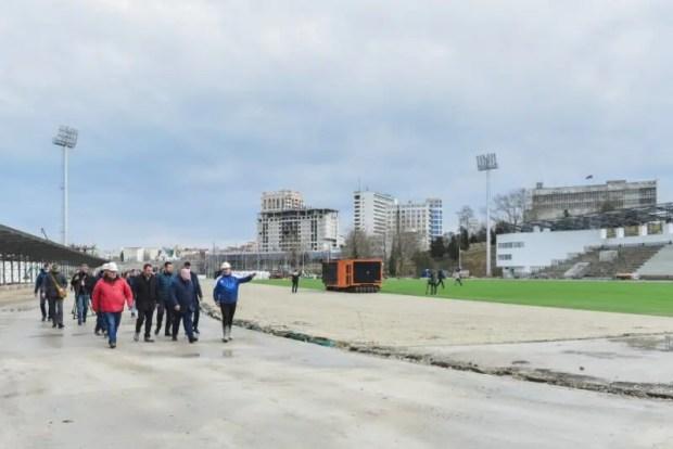 Первые объекты спортивного комплекса им. 200-летия Севастополя обещают ввести в строй в июле