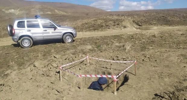 В районе курортного поселка Коктебель найдены и уничтожены взрывоопасные предметы