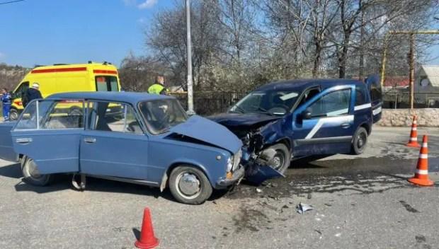 ДТП на дороге «Танковое – Оборонное»: семеро пострадавших