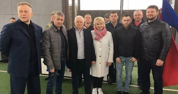 Севастопольские спортсмены и тренеры устроили праздник для ребят из сел Байдарской долины
