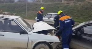 ДТП под Судаком: четверо пострадавших