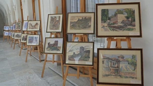 Уникальная коллекция картин Эммануила Бернштейна отныне в экспозиции Ливадийского дворца