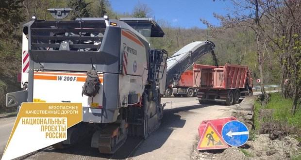 Дорожная сеть Южного берега Крыма восстанавливается и модернизируется к началу летнего сезона