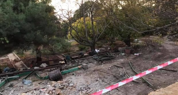 Прокуратура приостановила стройку в Меласском парке в Большой Ялте