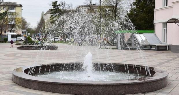 Весне – дорогу! В Симферополе заработали фонтаны