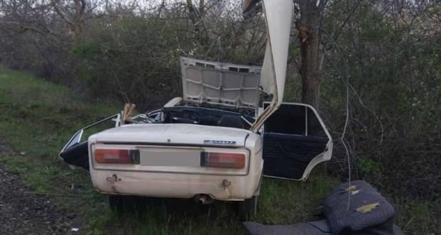 ДТП в крымском селе Орехово: двое пострадавших