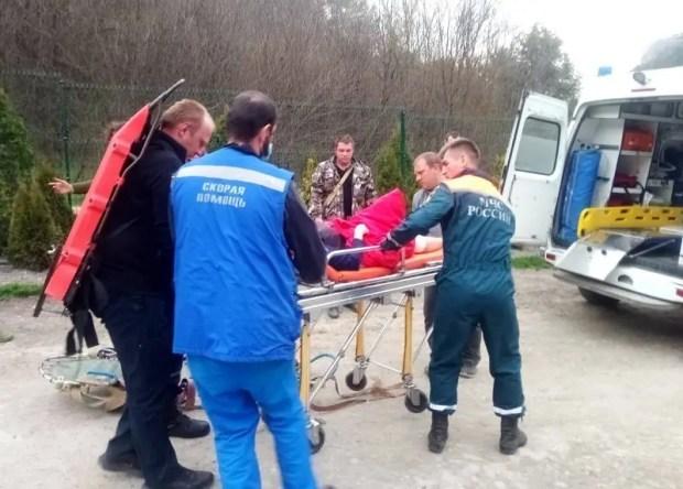 Туристка отправилась на прогулку в район пещерного города Мангуп-Кале и повредила ногу